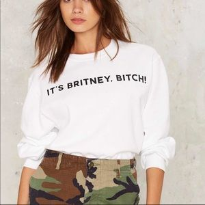 Private Party Britney Crewneck Sweater